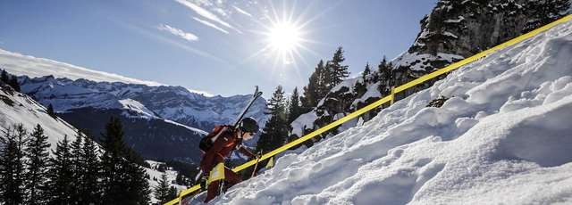 Ski Mountaineering Individual: Mit Vollgas in die Youth Games Premiere